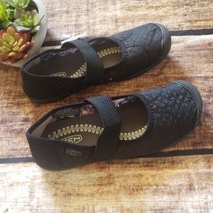NWT Quilted Mary Jane Keen Slip-Ons